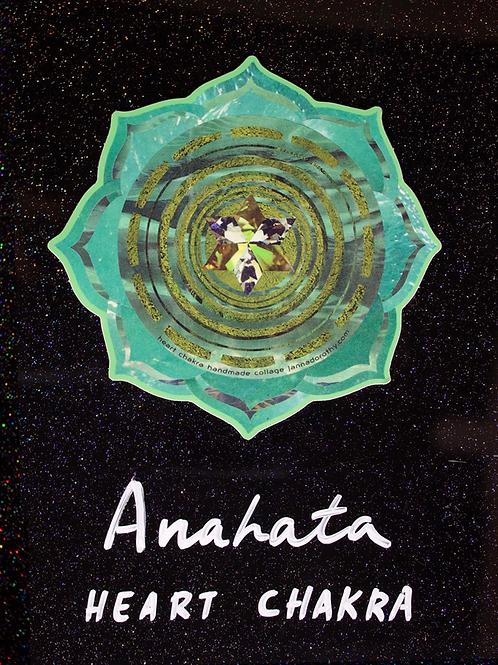 'Heart Chakra' sticker