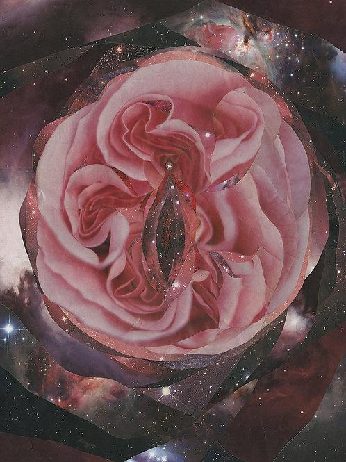 Cosmic Yoni, 8 x 10