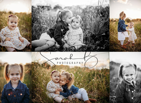 Its that time again... Mini sessions are abundance in this beautiful sunset weather