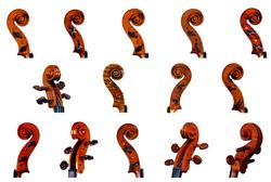 leonidas rafaelian violin scrolls