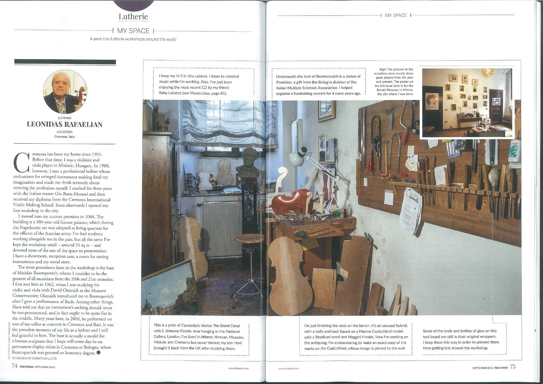 In Strad Magazine 2015/09
