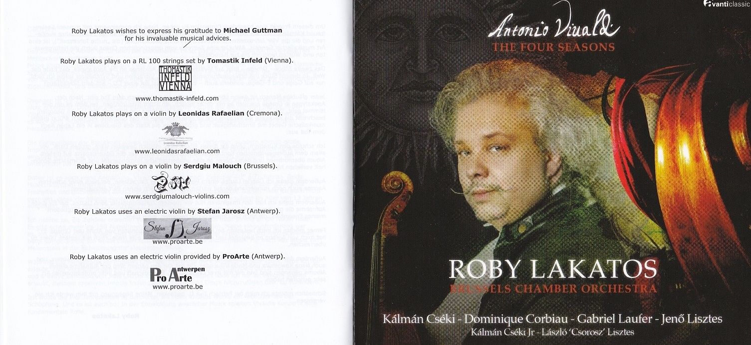 Roby Lakatos new CD
