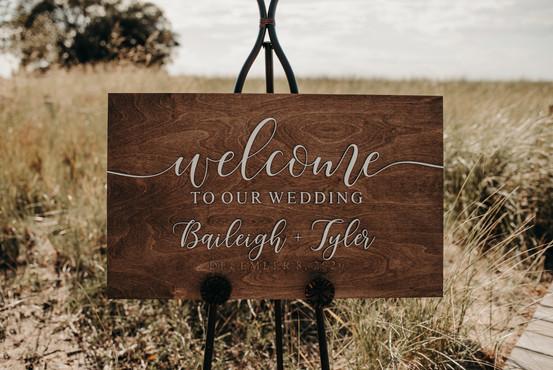 Baileigh and Tyler's Wedding