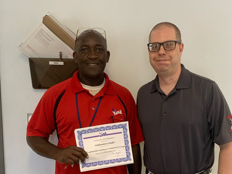Driver Silahoudine Diallo Recognized for Safe Driving after Compliment from FL Driver