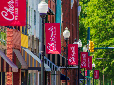 Cherryville's Main Street Program Again Earns National Accreditation