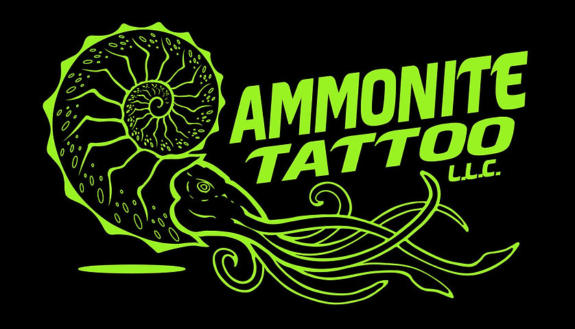 Ammonite Tattoo
