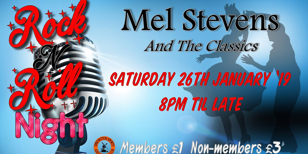 Rock 'n' Roll Night with Mel Stevens & The Classics