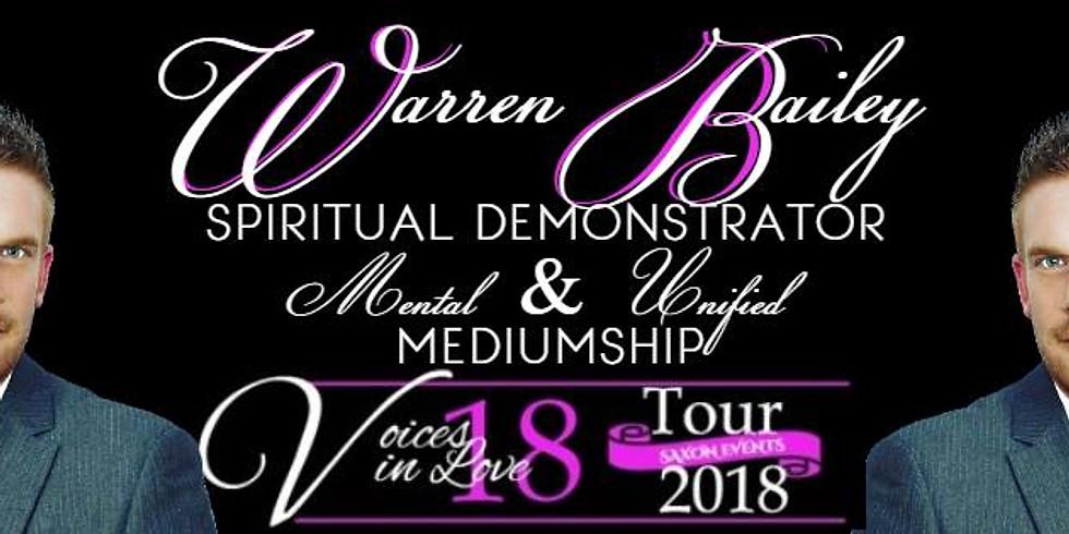 Warren Bailey - International Medium