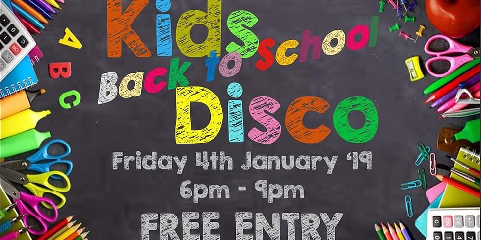 Kids Back To School Disco