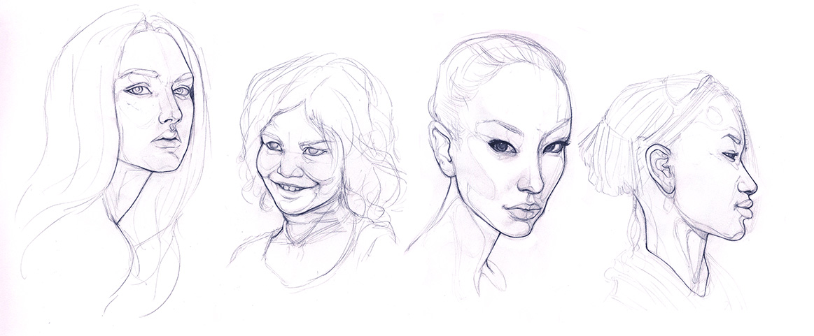Photo Portrait Studies
