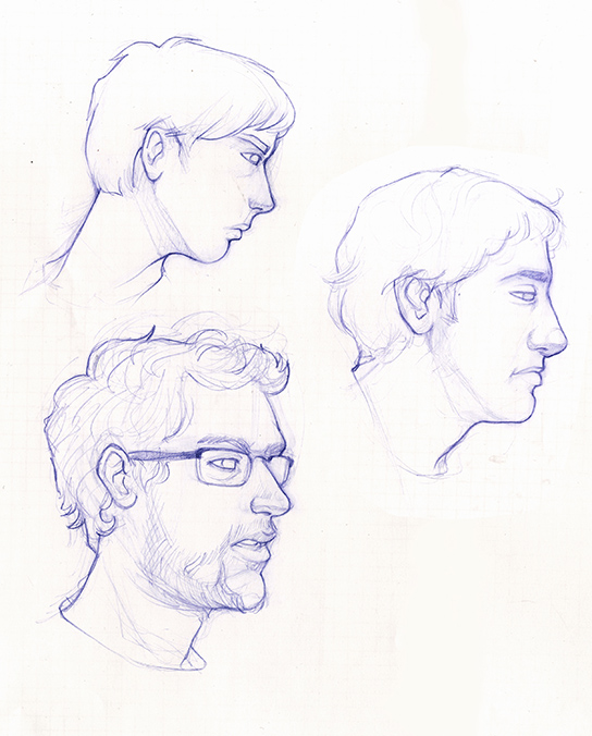 Life Portrait Studies
