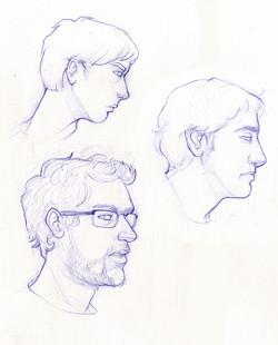 Life Portrait Studies