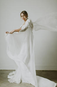 Fleur Cape from The Law Bridal