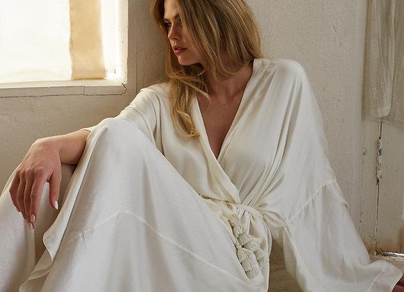 JOLIE Satin Bridal Robe by Bo & Luca