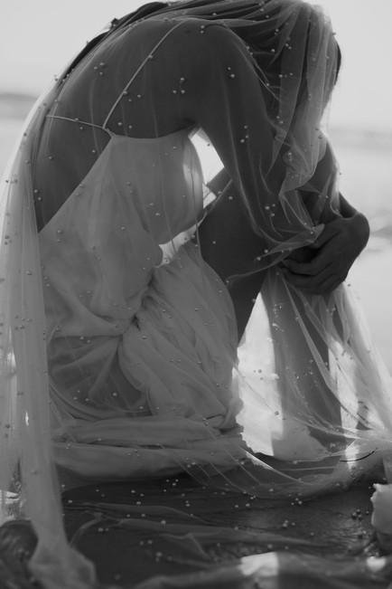 Harlow Pearl Veil by A.B. Ellie