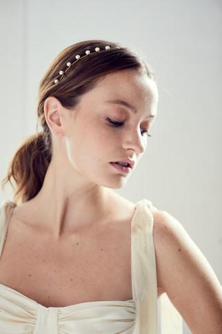 Iris Pearl Headband by Jennifer Behr