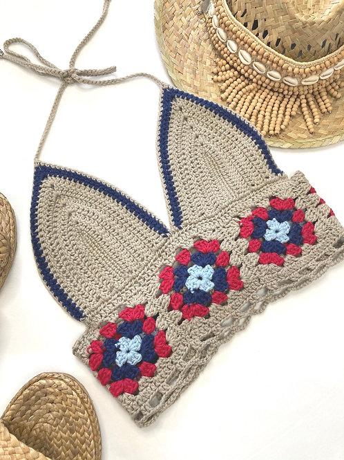 Drea Crochet Halter