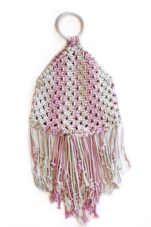 Zia Macrame Bag Large