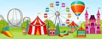 amusement-park-concept-extreme-entertainment-attractions-background-summer-natural-landsca