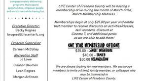 February & March Newsletter