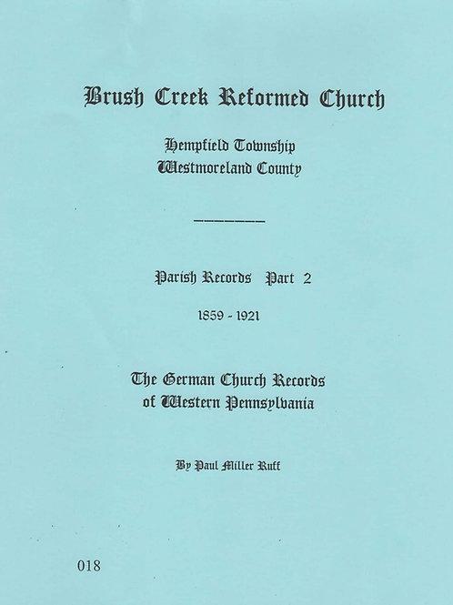 018 -Brush Creek Reformed (UCC), Part 2