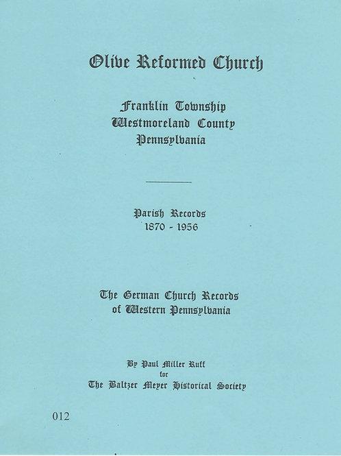 012 -Olive Reformed Church (Beamer's)