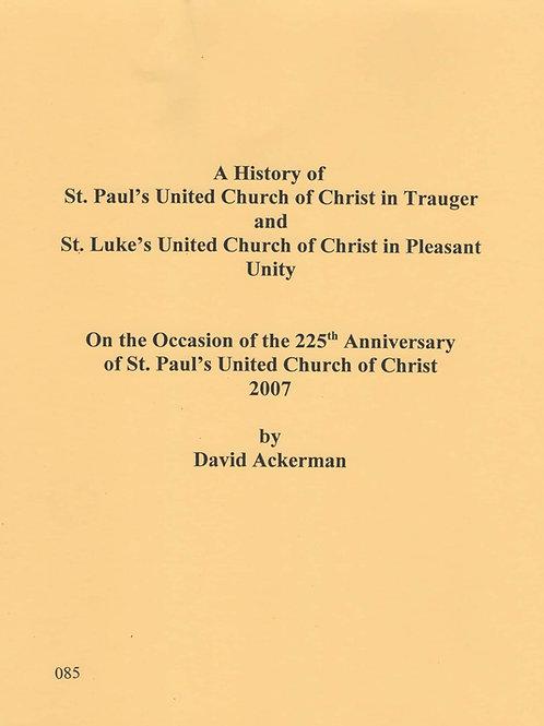 085 -St. Paul's United Church of Christ / St. Luke's United Church of Christ