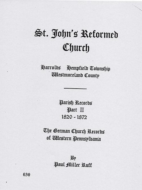 030 -St. John's Reformed-Part 2 Harrolds