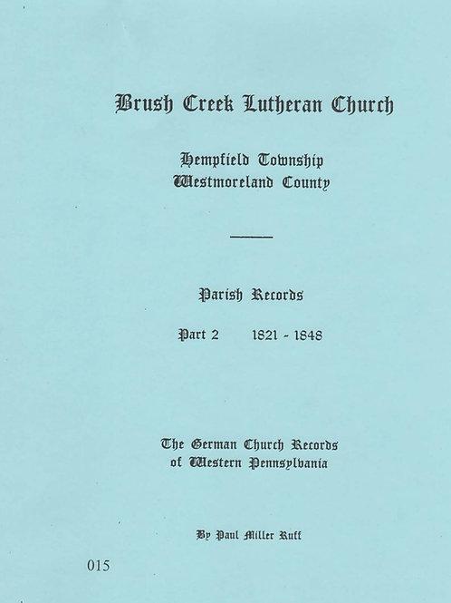 015 -Brush Creek Lutheran, part 2