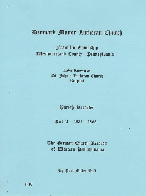 009 -Denmark Manor Lutheran Church, Part 2