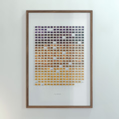Resolution: 365 Days (Chalk Violet - Ochre Yellow)