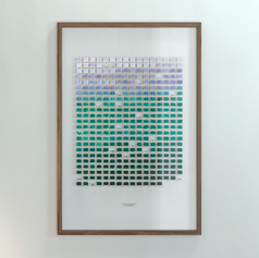 Resolution: 365 Days (Titanium White + Chalk Violet - Phtalo Green, Dark)