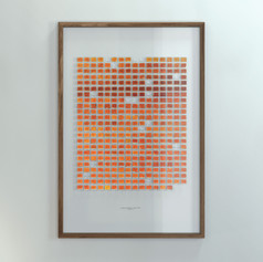 Resolution: 366 Days (Alizarin Crimson + Primary Yellow), Repetition