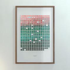 Resolution: 365 Days (Titanium White + Primary Red - Phtalo Green, Dark)