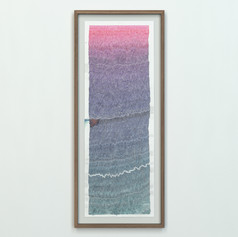 Fault Lines: 183 Days (Diamine Pink - Schubert)