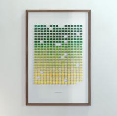 Resolution: 366 Days (Phthalo Green, Dark - Primary Yellow)