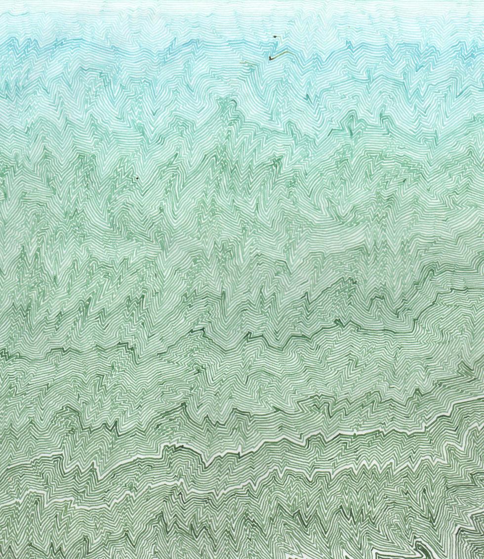 Fault Lines: 30 Days (Azure Bleu - Classic Green)