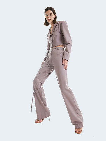 DUSTY PINK CLEO TROUSERS