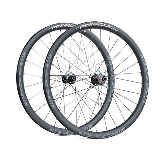 Boyd Cycling Pinnacle Hookless Carbon Gravel 36mm-Disc Wheelset