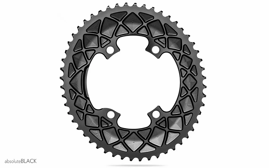 Absolute Black Oval ChainRing 110/4 Premium
