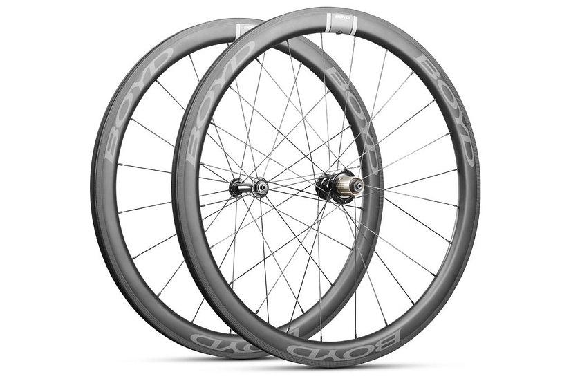 Boyd Cycling Carbon Podium Road 44mm-Rim Brake Wheelset