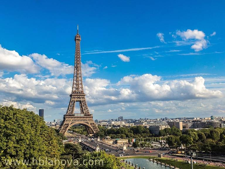 Eiffelova věž, Francie