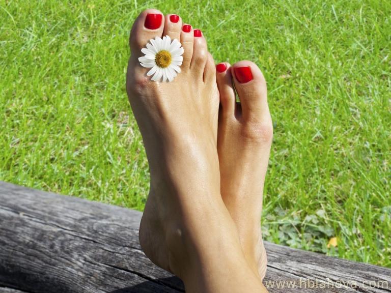 Zdravé nohy bez otoků