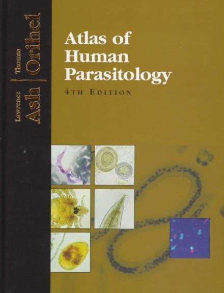 Kniha: Atlas of Human Parasitology