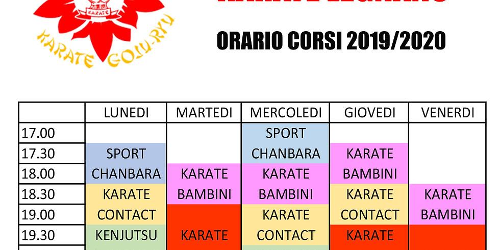 ORARI 2019-2020