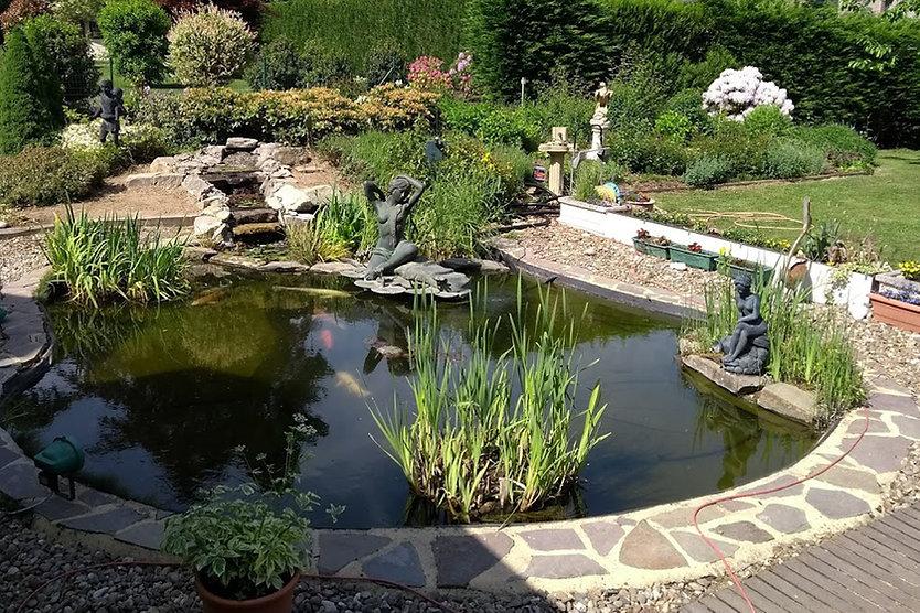 bassin de jardin belgique