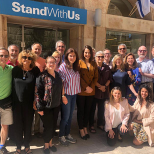 Discussing Israeli diversity and democracy with Gdeer Mree -  the first Druze Female representative in the Knesset