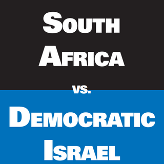 Apartheid South Africa vs. Democratic Israel