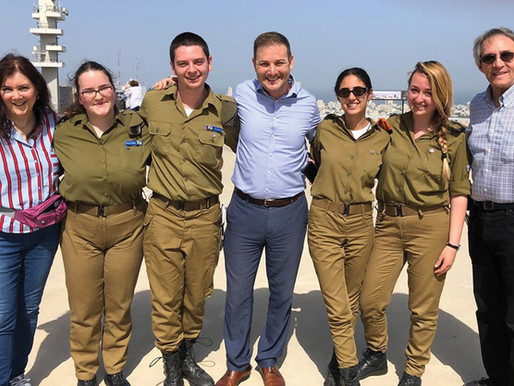 Honoring Survivors, StandWithUs in Israel