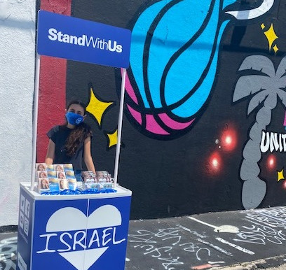 TEENS SLAM BASKETBALLS IN FRONT OF MIAMI HEAT MURAL AS THE #DUNKONHATE KICKS OFF